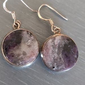 Jewelry - Amethyst Sterling Silver Earrings